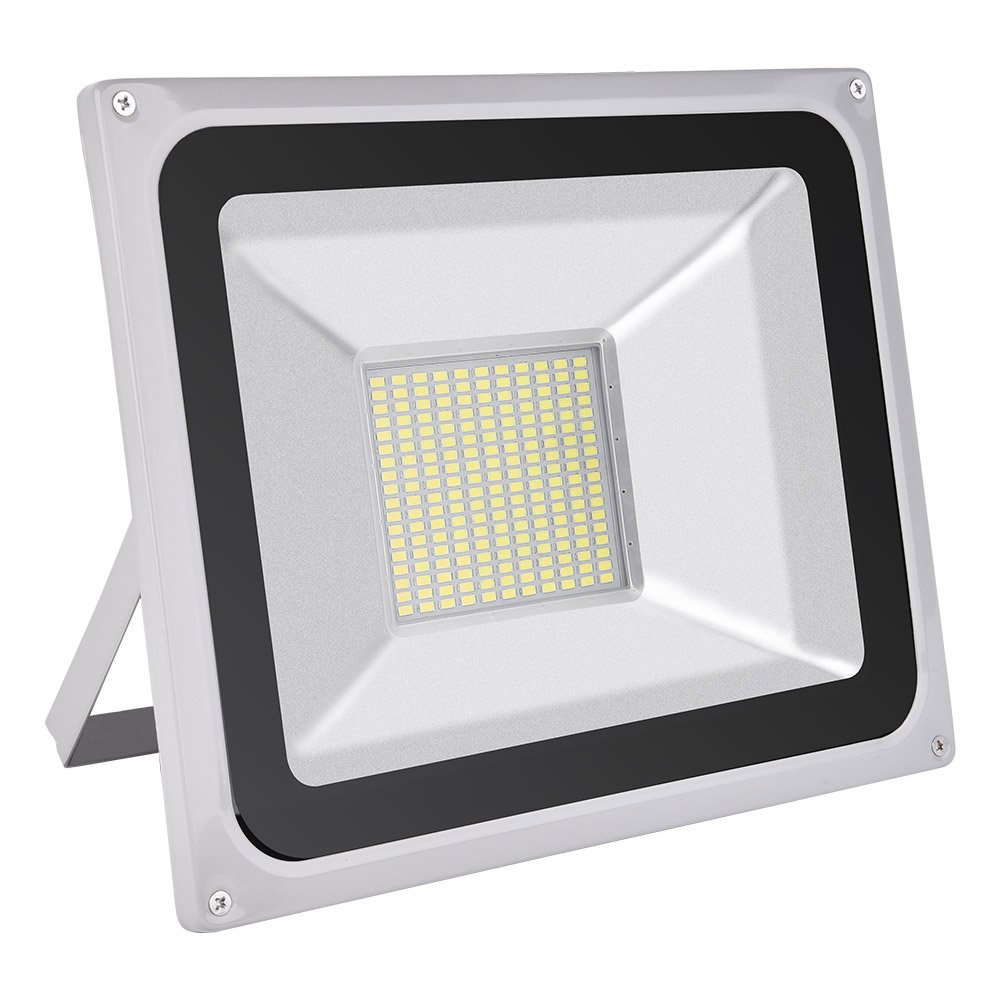 Coolkun 10/20/30/50/100/150/200/300/500W LED Flood Lights,Super Bright Work Lights, Outdoor and Indoor IP65 Waterproof Security Light for Garage, Garden, Lawn and Yard (100W Daylight White)