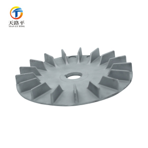 Electric motor cooling fan parts Aluminum A380