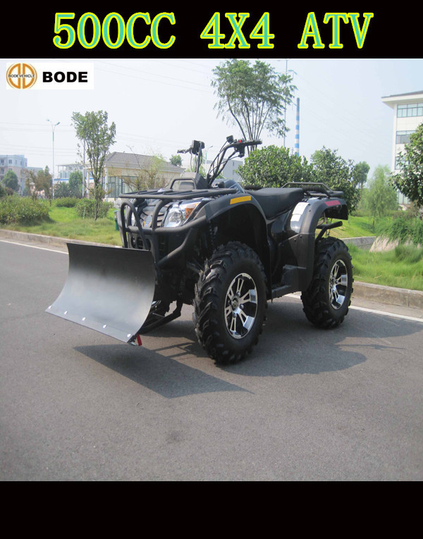 Gas/Diesel Fuel and 4-stroke Engine Type 500cc Automatic ATV