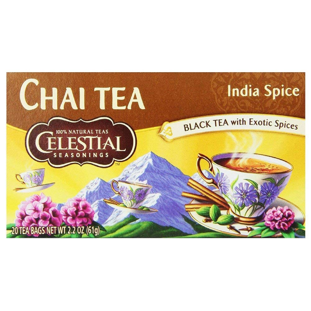 Get Quotations Celestial Seasonings India E Chai Tea Bags 20 Ct