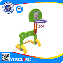 Kids game plastic toy playground basketball stands