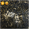 100% silk velvet fabric leopard pattern