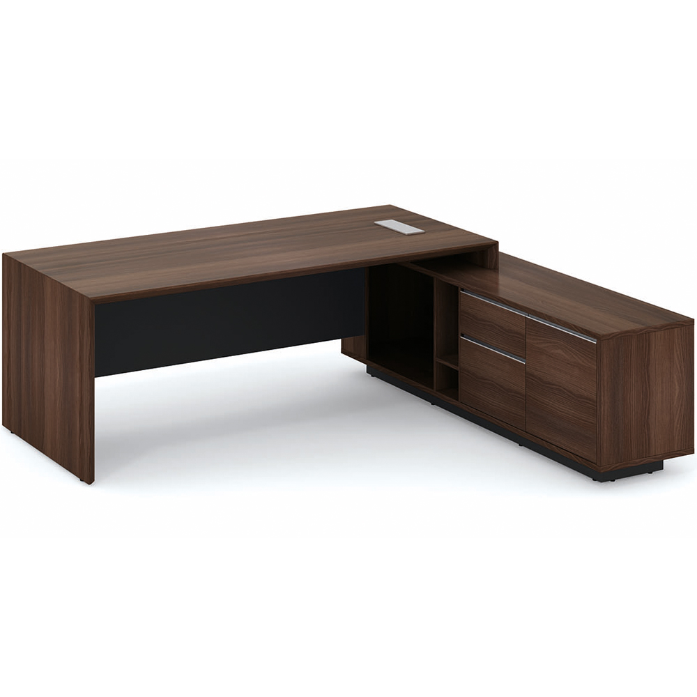 Guangzhou manufacturer mdf office executive desk