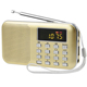 Factory best gift small pocket mp3 music player speaker fm radio usb sd card reader speaker