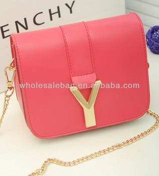 Long Chain Sling Bag Small Customcross Shoulder Bag Logo Messenger