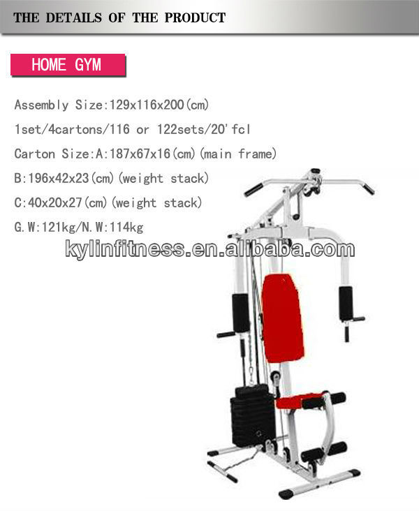 Multifunctional Home Gym Fitness Equipment