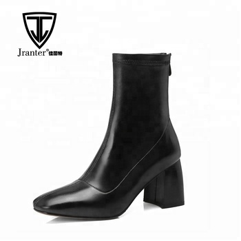 3e30ca9d1e8 Square Toe Thick Block Heel Ankle Boots For Women - Buy Ladies Boot Shoes  Boot Women Shoes Ankle Boots Women Shoes Sexy High Heel Ankle Boots Chunky  ...