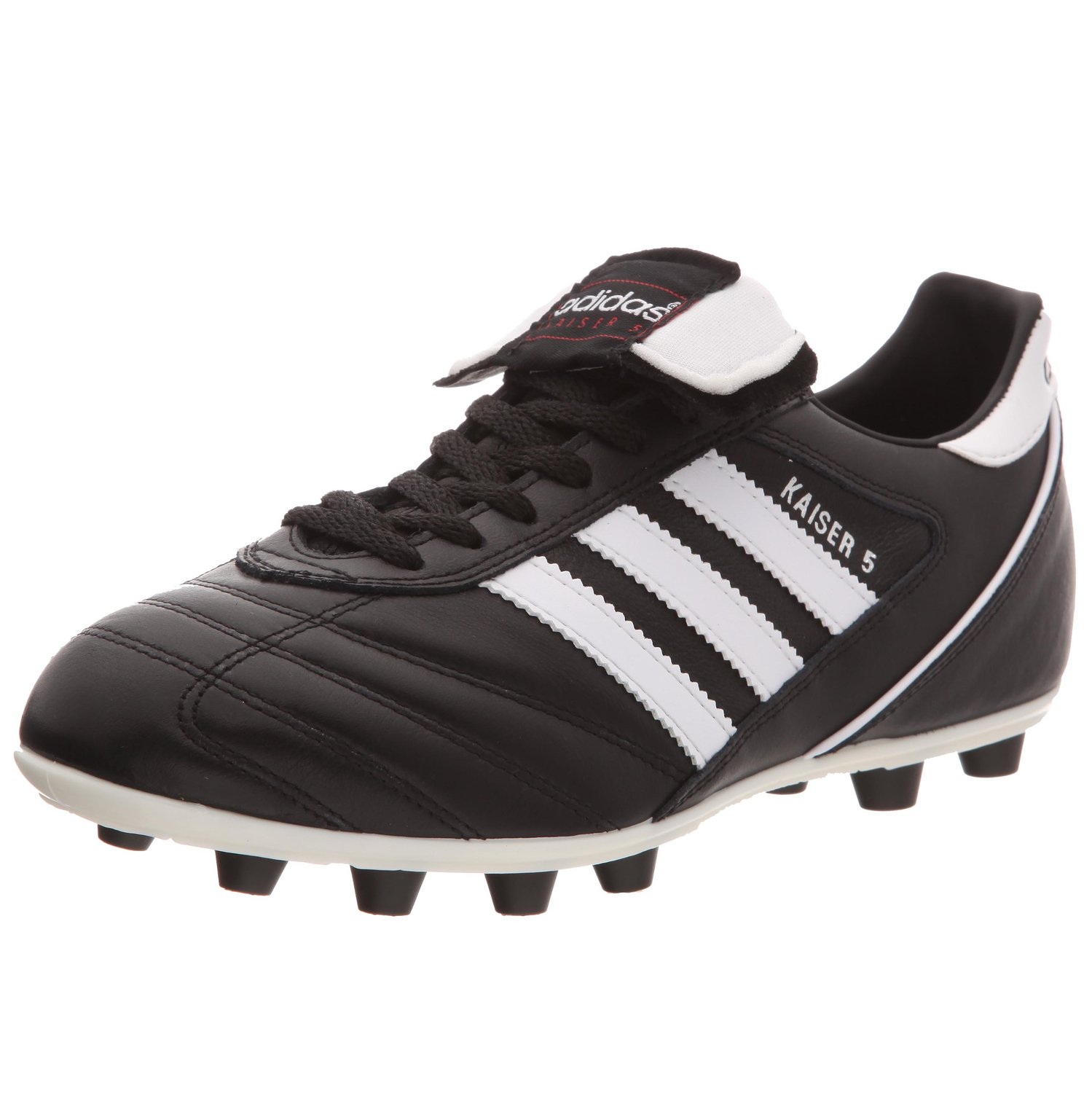 eb1bf21f4 Lissay Shoes Mens Football Soccer Mercurial Superfly V AG Pro Black Boots.  Get Quotations · Adidas Kaiser 5 Liga Firm Ground Football Boots - 12 -  Black