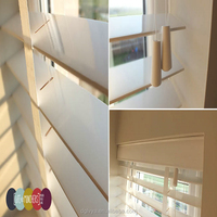 wooden material window blinds in guangdong