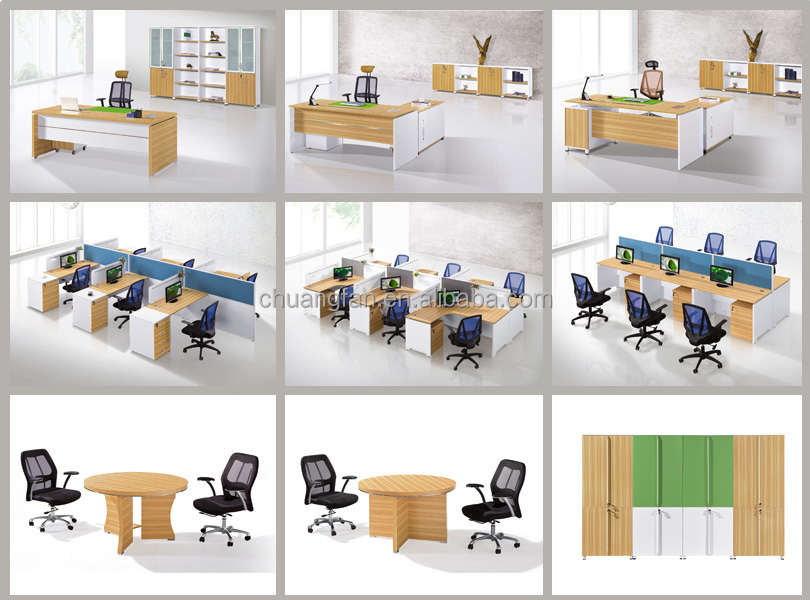 Chuangfan Modern Office Round Table Meeting Tables Reception Desk