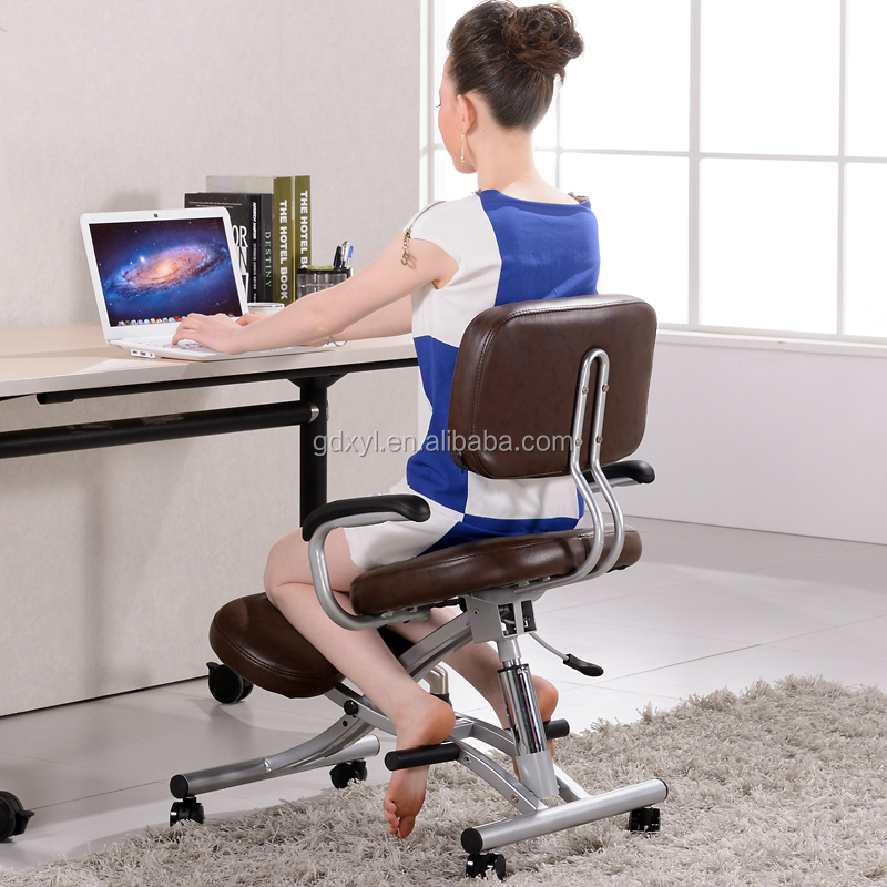 Posture Kneeling Chair adjustable ergonomic kneeling chair knee yoga posture sit chair