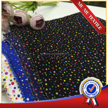 150m on sale multi color polka dots printed cotton fabric