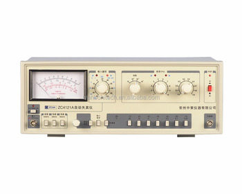 ZC4121A economical analogue distortion meter with pointer, View distortion  analyzer with pointer, ZCTEK Product Details from Shenzhen Wanbo Hi-Tech