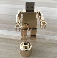2.0 Cartoon Characters Android Robot 32GB USB Flash Drive, Free Sample