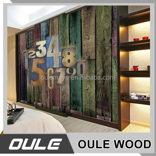 Wood mural wallpaper Brick Mural Custom size