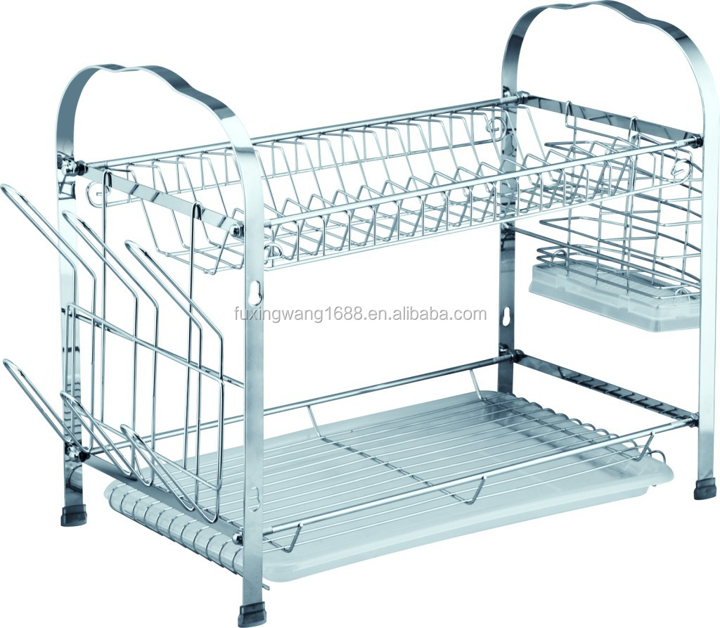 2 Tier Dish Rack With Tray, 2 Tier Dish Rack With Tray Suppliers and ...