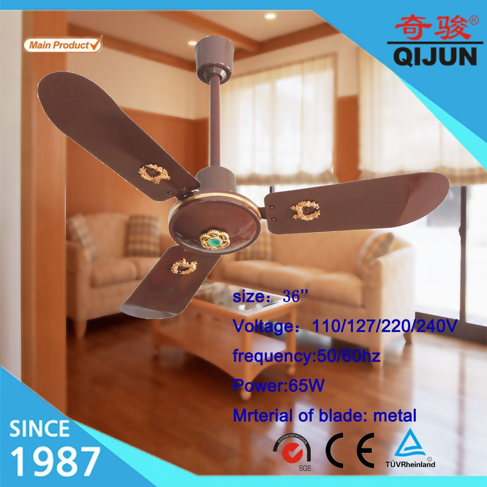 blades shipping fan industrial home free inch product today overstock iron garden black foldable ceiling