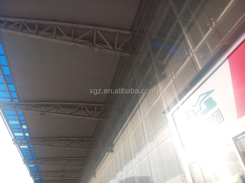 modern environmental light steel structure bus station