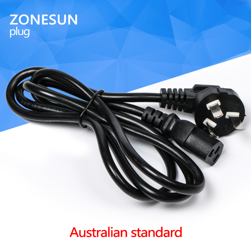 Universal EU GER AU CHN Plug Adapter European Germany Australia Chinese Power Socket Plug for <strong>electric</strong> filling machine