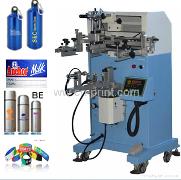 mug plastic paper cup Bottle bucket plane cylinder Screen Printing Machine