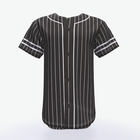 Personalized breathable Stripe Pattern sublimated Baseball Jersey