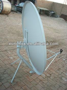 Ku Band 1.2cm Wall Mount Big-footing Satellite Dish Antenna
