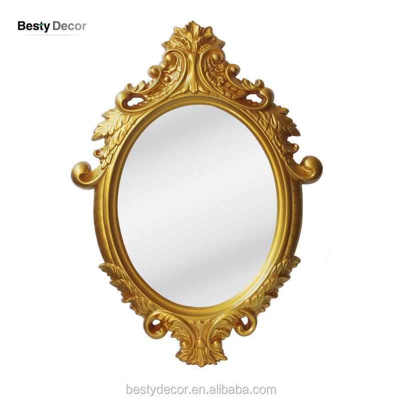 Venta al por mayor espejos antiguos de madera blanca - Espejos antiguos de pared ...
