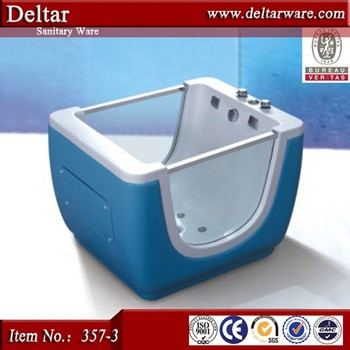 Blue Color Standing Baby Bath Tub,Baby Folding Bathtub,Small ...