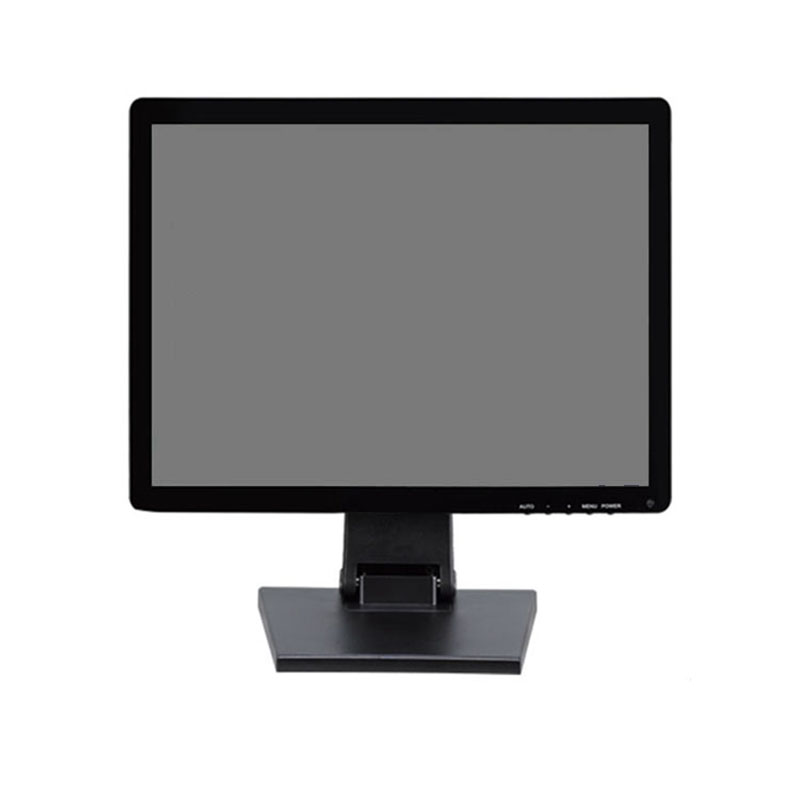 "15"" 1024*768 POS touch screen monitor with 4 wire resistive touch screen"