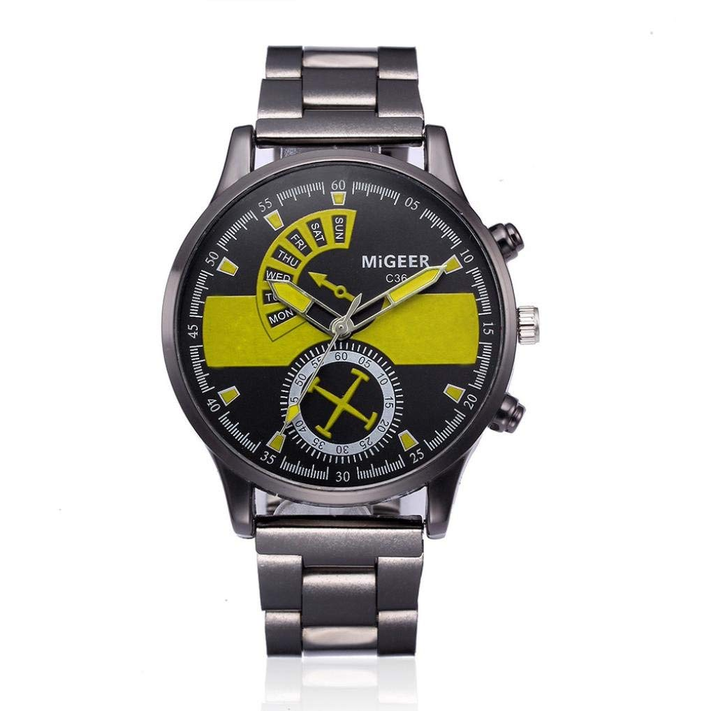 Luxurious Business Men Watch Alloy Case Synthetic Leather Analog Quartz Sport Mens Watches Top Brand Luxury Masculino Reloj Watches