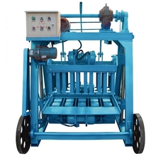 ZCJK QM4-45 widely used hollow concrete block making machine lightweight concrete block plant