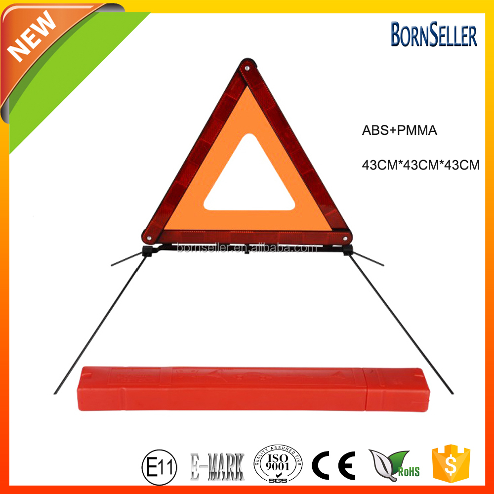 Foldable Reflective Crossroad Tunnel Hazard Ahead Sign