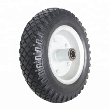 Polyurethane Transport Cart Tires Wheelbarrow Spare Parts