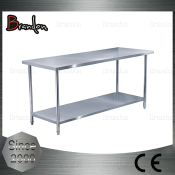 Brandon Competitive Price Tiers Stainless Steel Kitchen Work Table - Stainless steel work table price