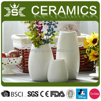 Best Selling 3 Sets Ceramic Cheap Vases Wholesale Buy Cheap Vases