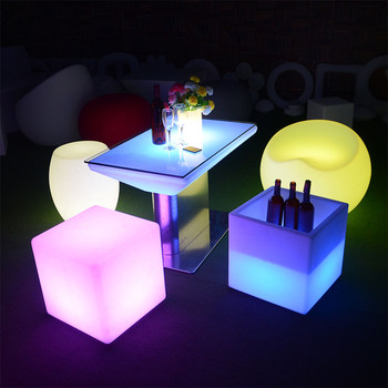 party chairs and tables waterproof outdoor led bar furniture set sectional sofas chair table with lighting