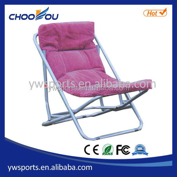 Fashionable stylish outdoor chair with sun shade