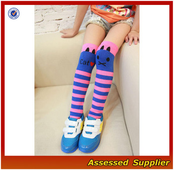 Kid Fashion Casual Socks/china Wholesale Little Girls Striped ...