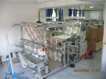 Machinery For Complete Curtain Factory
