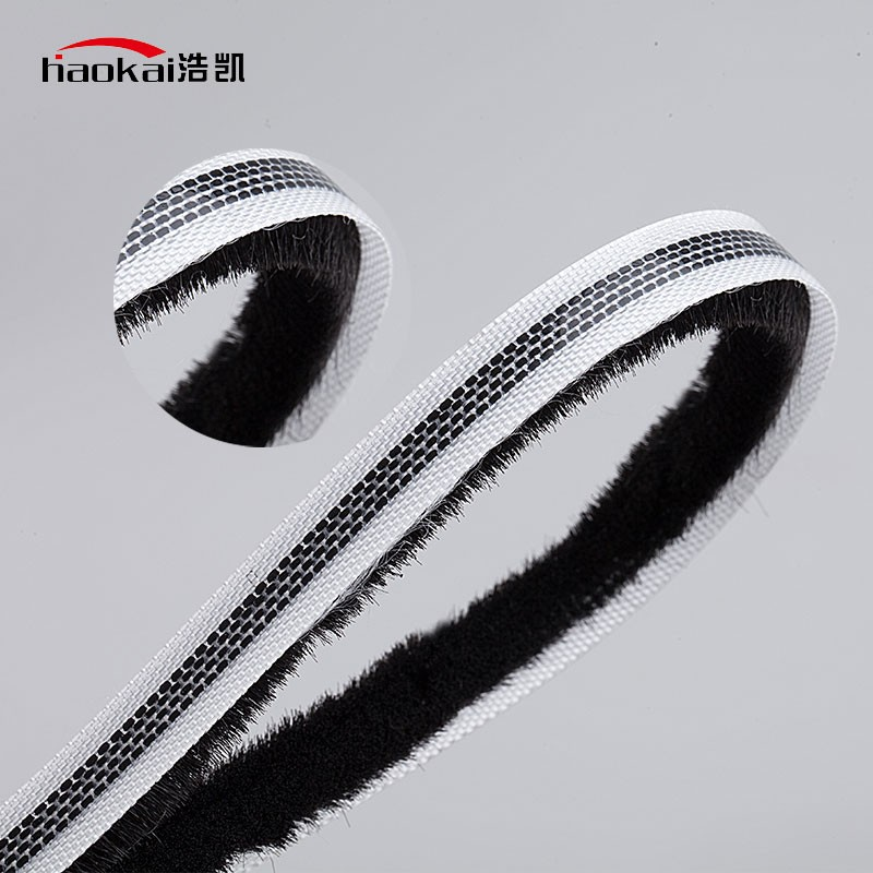 For Aluminum Sliding Door And Window Wool Pile Weather Strip, Strip Brush