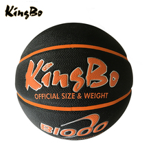 Outdoor standard size sport PU basketball wholesale