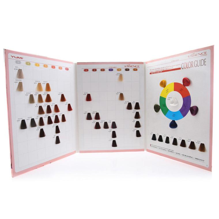 Encantador Libro De Muestras De Color De Pelo Galería - Páginas Para ...