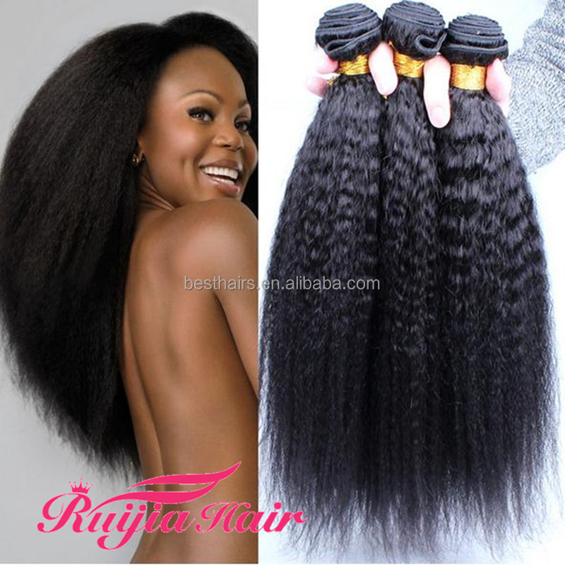 Best Selling Wholesale Factory Price 100% Virgin hair Tangle Free No Shedding Afro Kinky Human Hair For Braiding