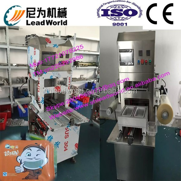 high efficiency and low price Tray Modified Atmosphere Packaging Machine