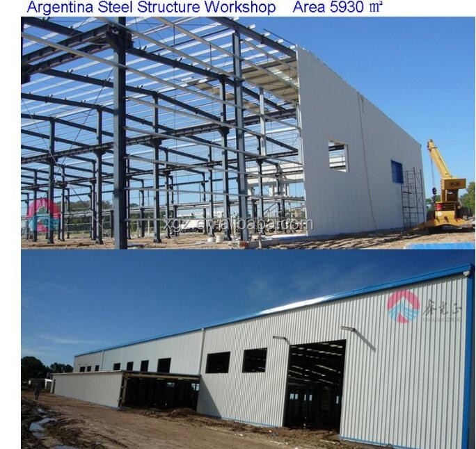 Large demountable welding workshop design