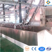 pig slaughter house equipment heatproof pig scalding pond