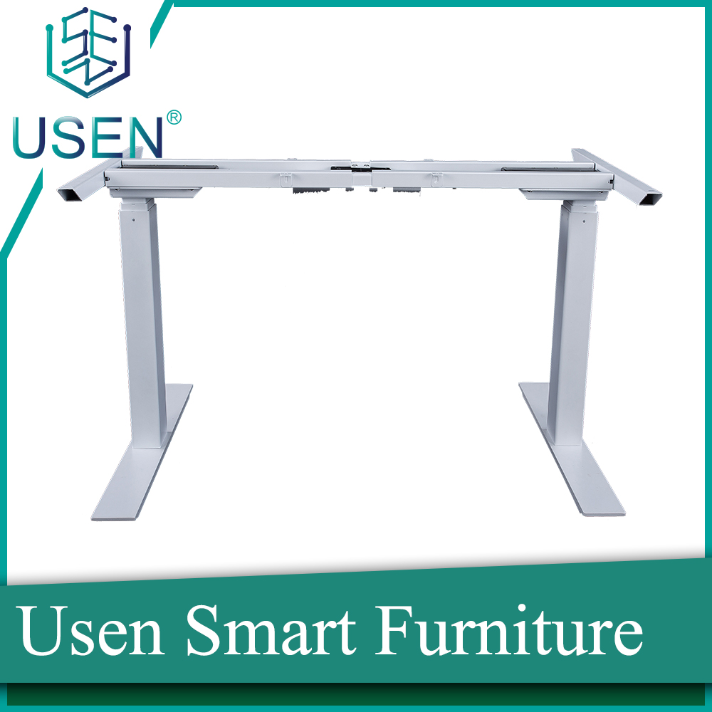 2017 newest dual motor height adjustable table with good price