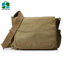 Durable canvas Classic Military Messenger Bags for student