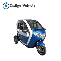 Passenger Enclosed Cabin 3 Wheel Motorcycle Scooter for Adult