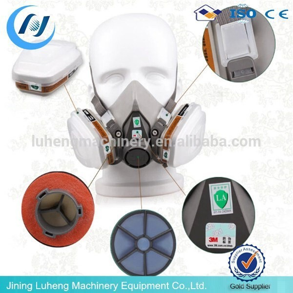 High performance coal mining 3M gas mask ,safety gas mask for self-rescuing for sale